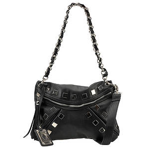 Volatile Hang Up Square Stud Shoulder Bag