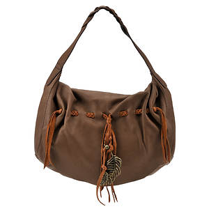 Lucky Brand Hollywood And Vine Flap Hobo Bag