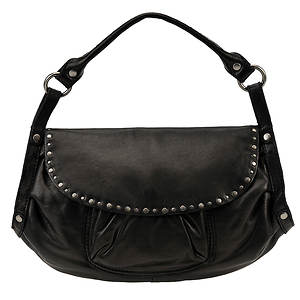 Lucky Brand Sunset Junction Leather Flap Hobo Bag