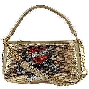Ed Hardy Jolly Roger Hobo Bag