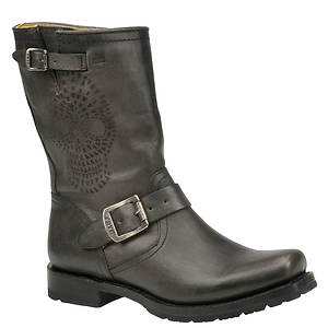 Frye Women's Heath Skull Engineer Boot