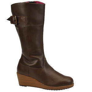 Crocs™ Women's A-Leigh Leather Boot