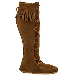 Minnetonka Women's Front Lace Hardsole Boot