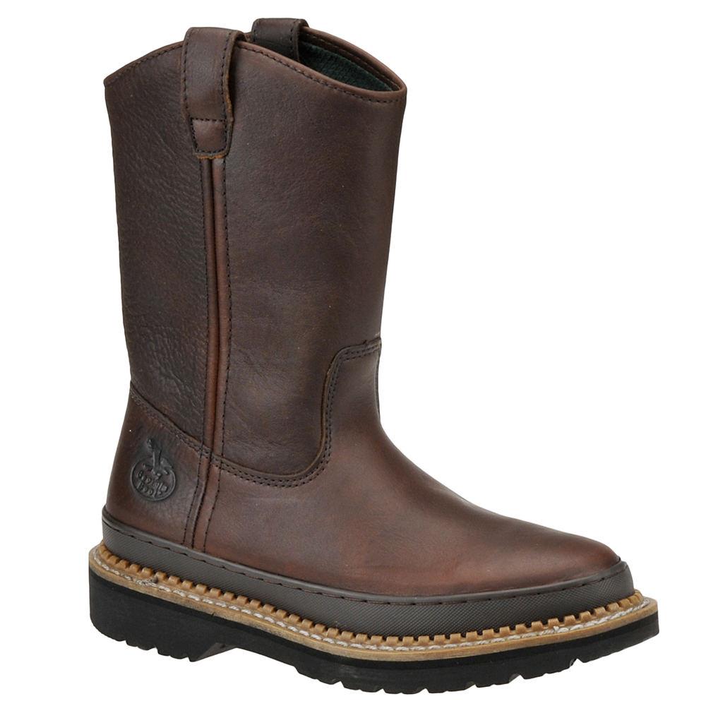 "Georgia Boot Men's Giant 10"" Wellington Brown Boot 11 M -  043538403905"