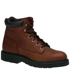 "Work America Men's Steel Toe 6"" Brawny Leather Work"