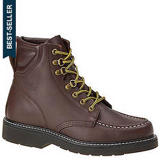 "Work America Men's 6"" Moc Toe Work"
