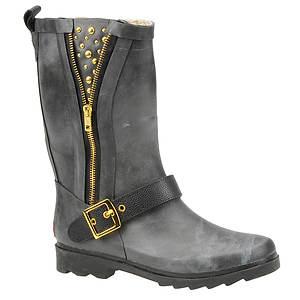 Chooka Women's Zip Stud Mid Rain Boot