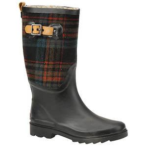 Chooka Women's Esquire Plaid Rain Boot