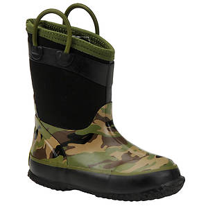 Western Chief Boys' Camo Neoprene Boot (Toddler-Youth)