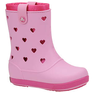 Crocs™ Girls' Crocband Hearts Boot (Toddler-Youth)