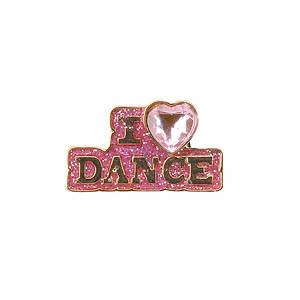 Jibbitz™ I Love Dance