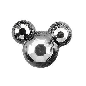 Jibbitz™ Holographic Mickey Head