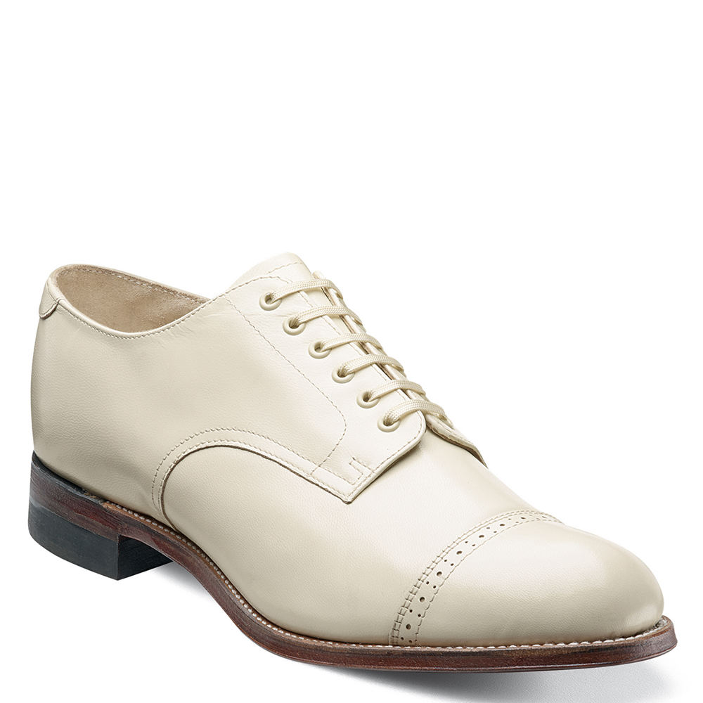 1930s Style Mens Shoes Stacy Adams MADISON 00012 Mens $119.95 AT vintagedancer.com