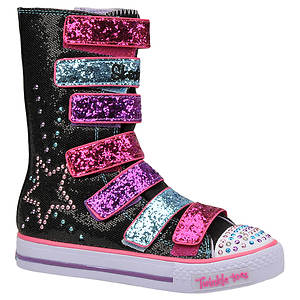 Skechers Girls' Twinkle Toes: Shuffles - Rising Star (Toddler-Youth)