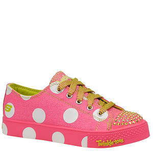 Skechers Girls' Twinkle Toes: Shuffles - Polka Dot (Toddler-Youth)