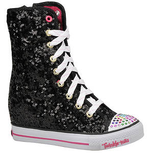 Skechers Girls' Twinkle Talls: Gimme - Rockstar Chick (Toddler-Youth)