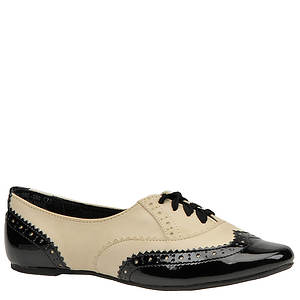Not Rated Women's Black Tie Oxford