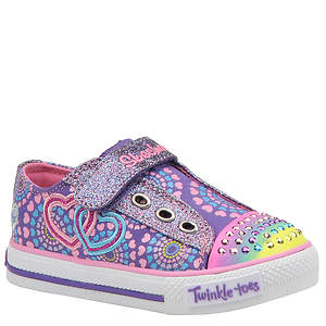 Skechers Girls' Twinkle Toes: Shuffles-Love Burst (Infant-Toddler)