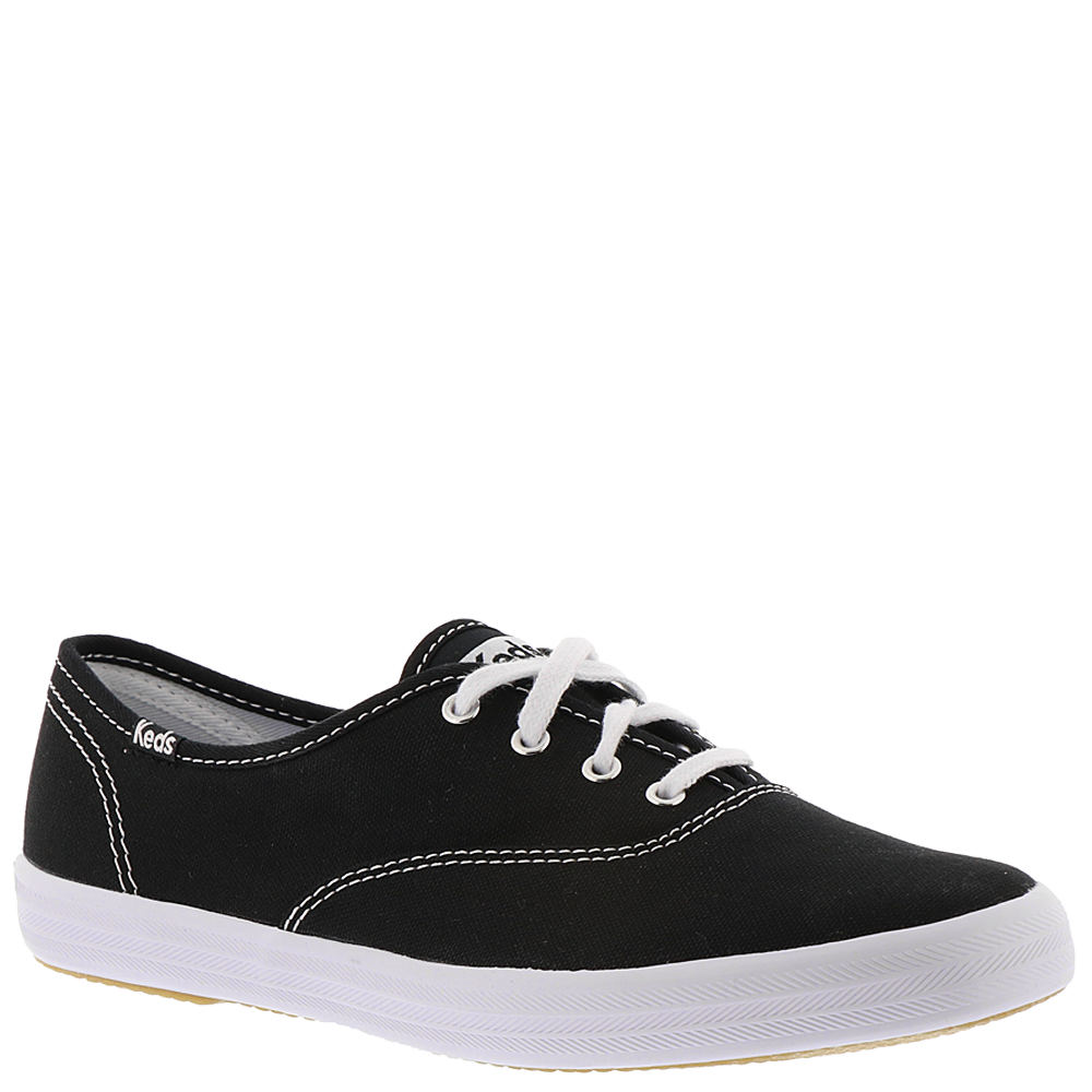 *Stir up old memories and start some new ones in Keds\\\' classic footwear *Canvas upper *Thick rubber outsole *Padded insole *Cotton lining