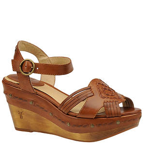Frye Women's Carlie Huarache Ankle Sandal