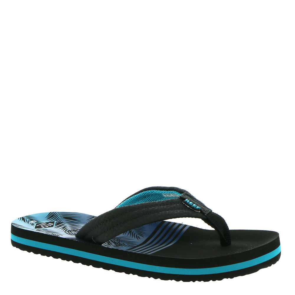 *Colorful water-ready sandals for summer days at the pool *Water-friendly synthetic strap *Comfortable polyester fabric lining *Printed contoured EVA footbed *High-density EVA sole *Available in combination sizing only half sizes order the next size up *Sizes 3/4 5/6 7/8 and 9/10 come with a removable back strap