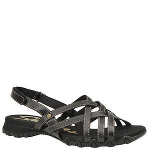 Skechers USA Women's Bikers Dream Weaver Sandal