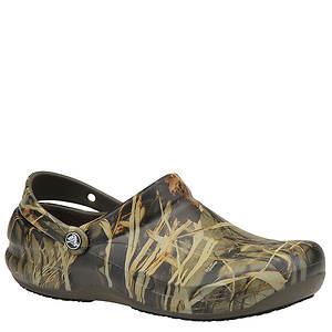 Crocs™ Men's Work Bistro Realtree Slip-On