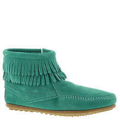 Minnetonka Double Fringe Side Zip (Girls' Toddler-Youth)