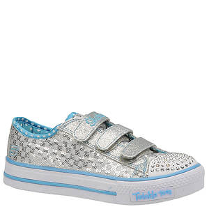 Skechers Girls' Twinkle Toes: Shuffles - Sweet Nothings (Toddler-Youth)