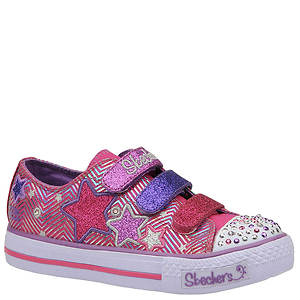 Skechers Girls' Twinkle Toes Shuffles-Triple Up (Toddler-Youth)