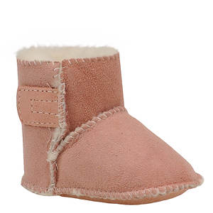 Minnetonka Girls' Genuine Sheepskin Pug Boot (Infant-Toddler)