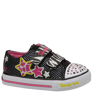 Skechers Girls' Twinkle Toes: Shuffles - Wild Starlight (Infant-Toddler)