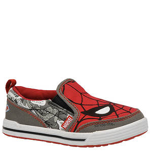 Stride Rite Boys' Spiderman Slip-On (Toddler-Youth)
