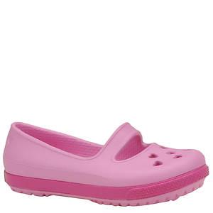 Crocs™ Girls' Crocband Hearts Flat PS (Toddler-Youth)