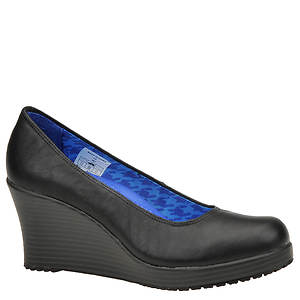 Crocs™ Women's A-Leigh Closed Toe Wedge Slip-On