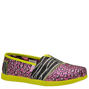 Skechers Girls' Lil Bobs: Bobs World III - Sparkle Safari (Toddler-Youth)