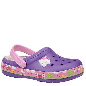 Crocs™ Girls' Crocband Hello Kitty Fair Lined Clog (Toddler)