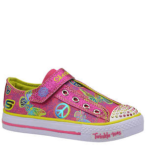 Skechers Girls' Twinkle Toes: Shuffles - Single Strap (Toddler-Youth)