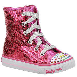 Skechers Girl's Twinkle Toes: Shuffles - Bizzy Bunch (Infant-Toddler)