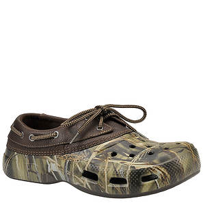 Crocs™ Men's Islander Sport Real Tree Boat Shoe