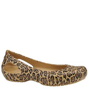 Crocs™ Women's Kadee Leopard Flat
