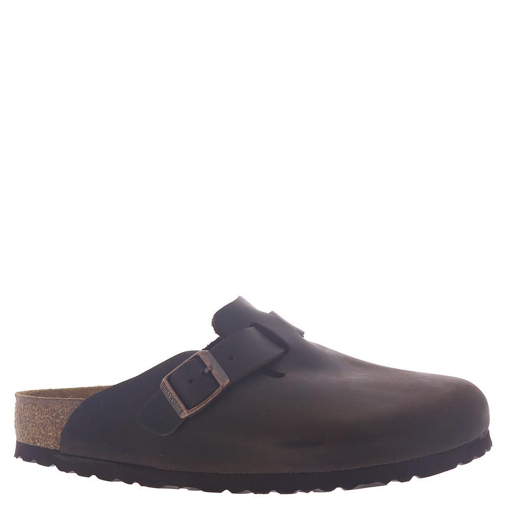Birkenstock Boston Oiled Leather Clog - Unisex - D-EE Width