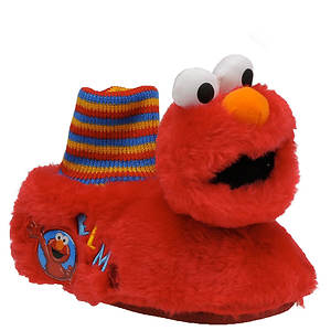 Sesame Street Boys' Elmo Head Slipper (Toddler)