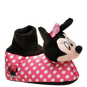 Disney Girls' Minnie Mouse Head Slipper (Toddler)