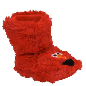 Sesame Street Boys' Elmo Bootie Slipper (Infant-Toddler)