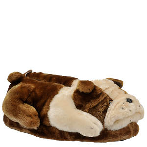 Happy Feet Animal Feet Bulldog Slipper