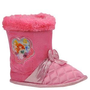 Disney Girls' Princess Bootie Slipper (Toddler)