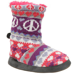 MUK LUKS® Girls' Heart Peace Fairisle (Toddler-Youth)