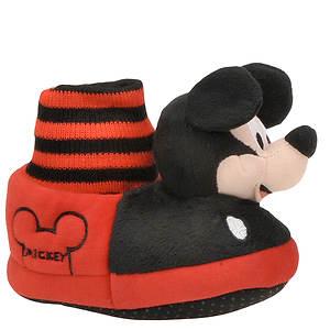 Disney Boys' Mickey Mouse Head Slipper (Toddler)