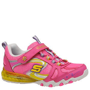 Skechers Girls' S Lights - Sparkle Diamonds (Toddler-Youth)
